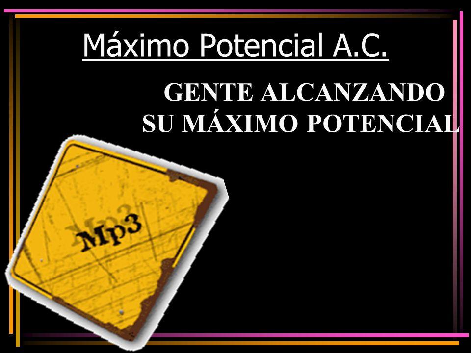 GENTE ALCANZANDO SU MÁXIMO POTENCIAL