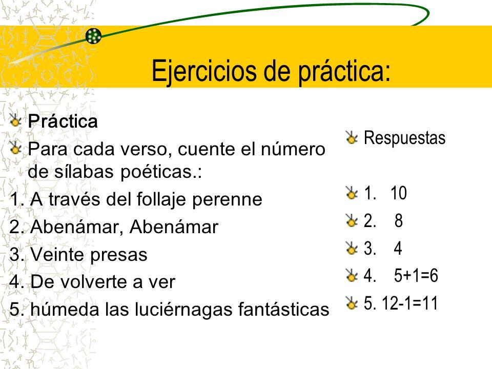 Ejercicios de práctica:
