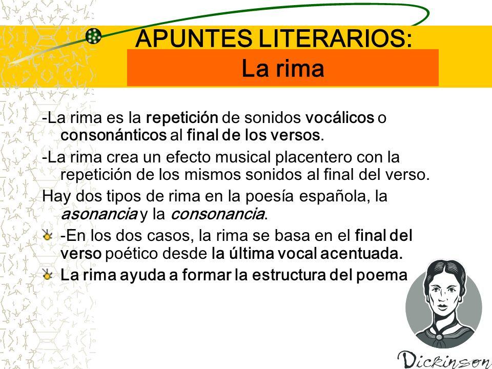 APUNTES LITERARIOS: La rima