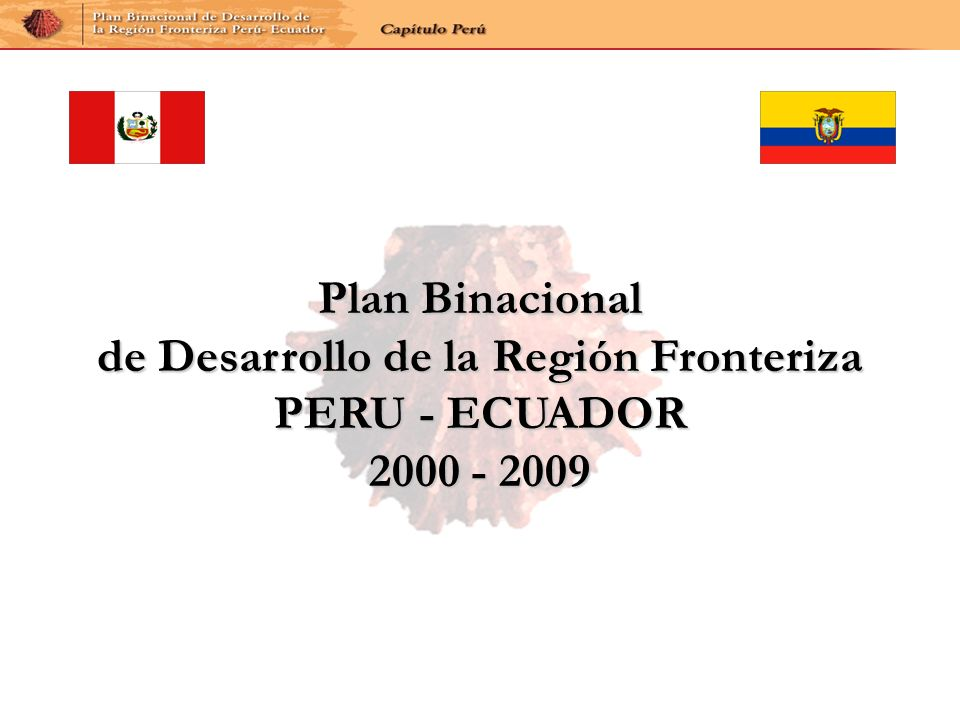 de Desarrollo de la Región Fronteriza