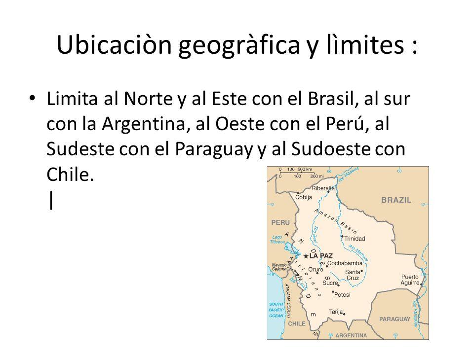 Ubicaciòn geogràfica y lìmites :