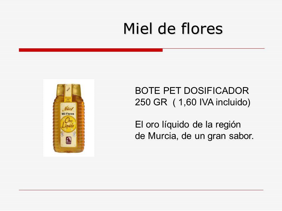 Miel de flores BOTE PET DOSIFICADOR 250 GR ( 1,60 IVA incluido)