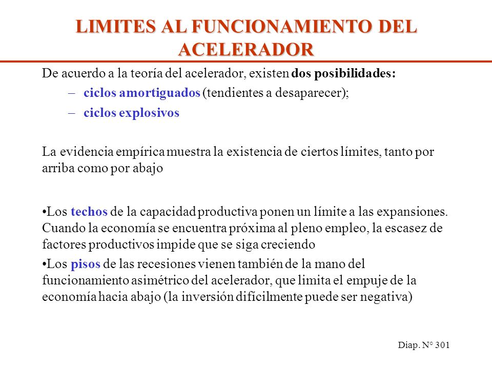 LA DEMANDA DE INVERSION