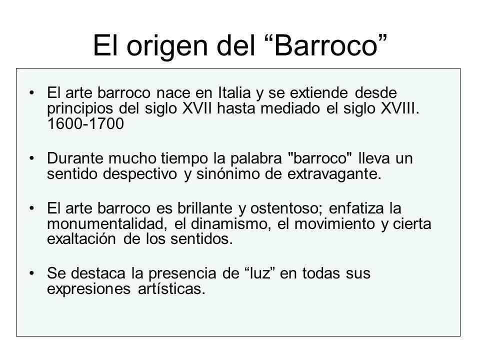 El origen del Barroco