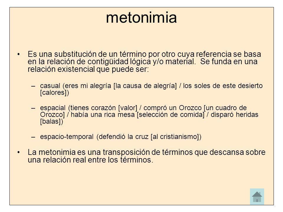 metonimia