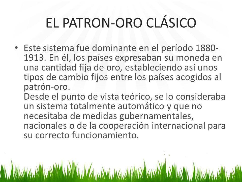 EL PATRON-ORO CLÁSICO
