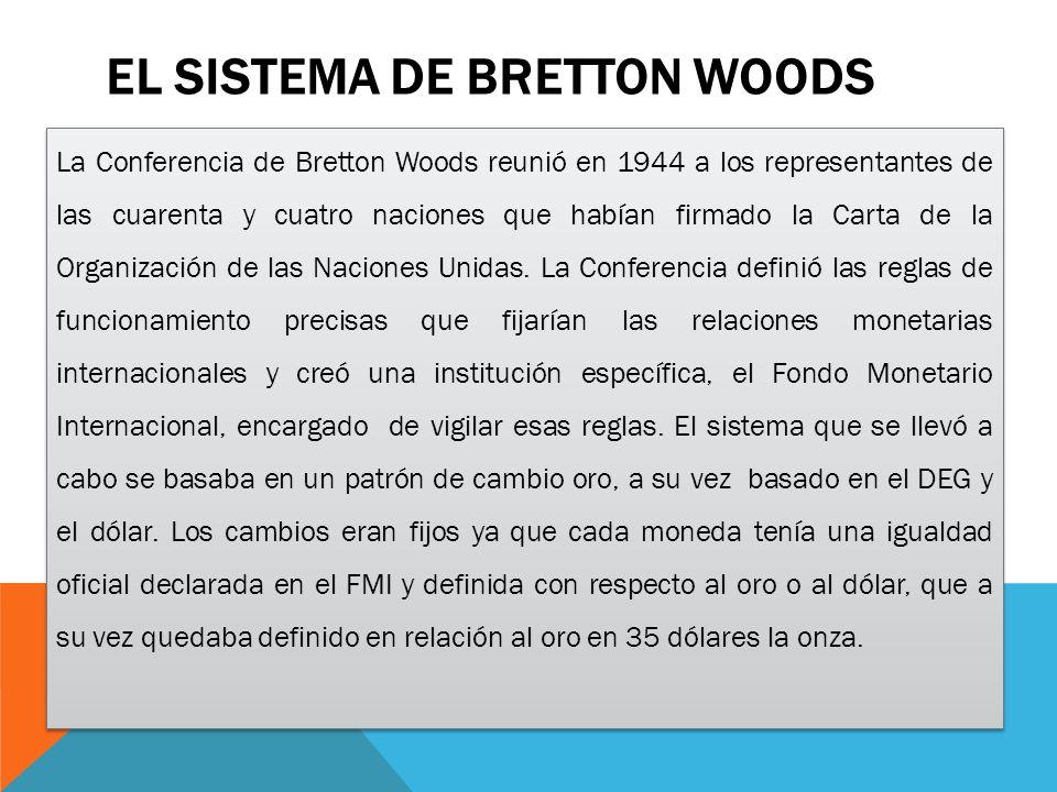 El sistema de Bretton Woods