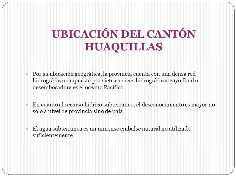 UBICACIÓN DEL CANTÓN HUAQUILLAS