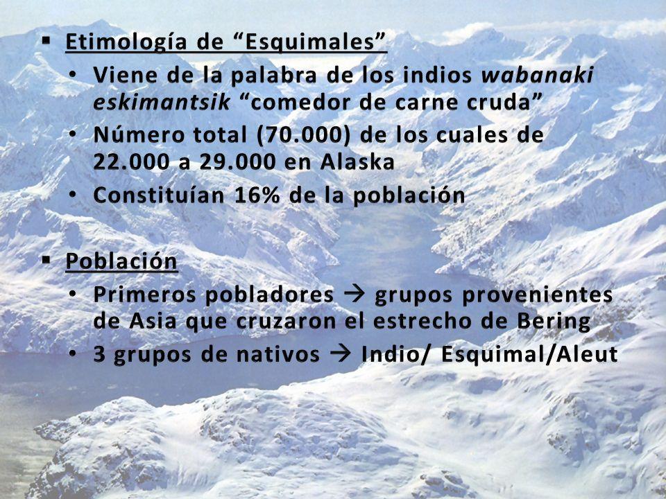 Etimología de Esquimales
