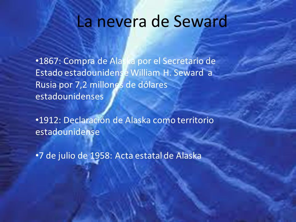 La nevera de Seward