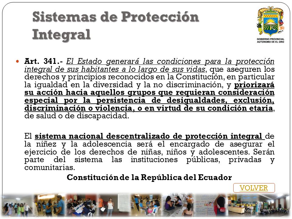 Sistemas de Protección Integral