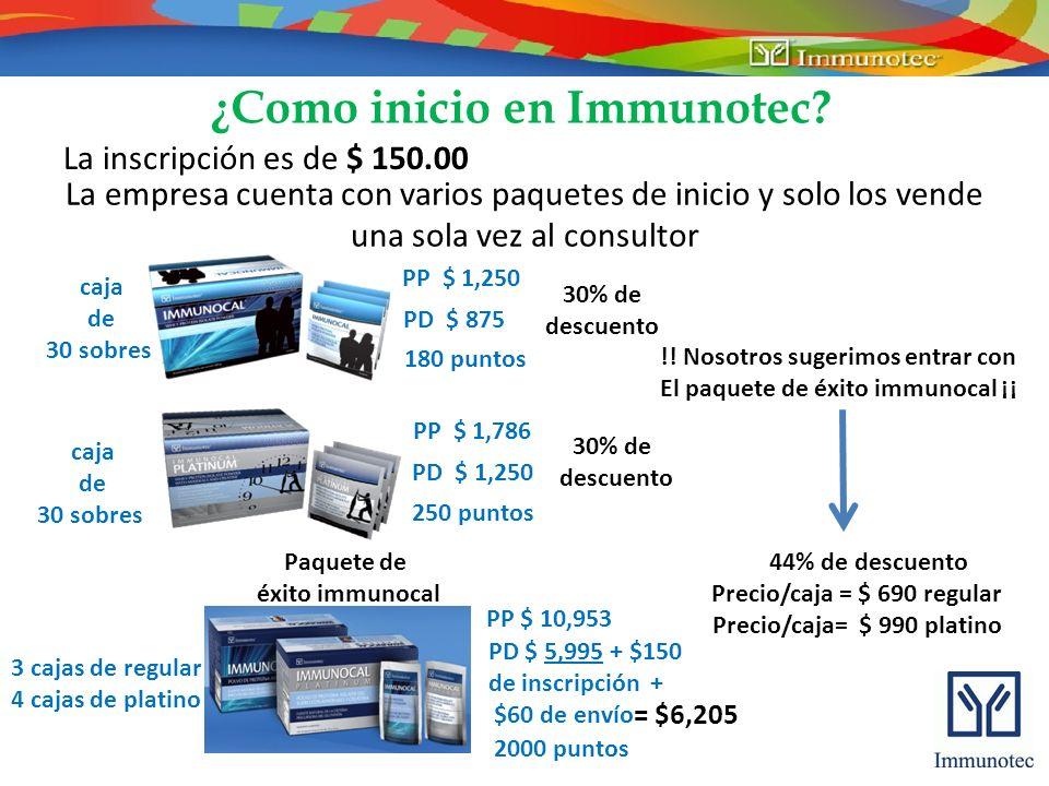 Precio/caja = $ 690 regular Precio/caja= $ 990 platino