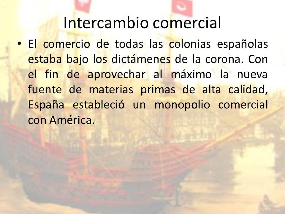 Intercambio comercial