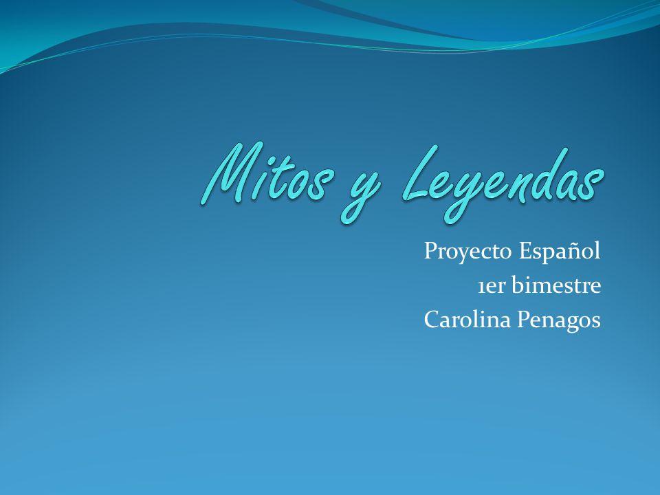 Proyecto Español 1er bimestre Carolina Penagos