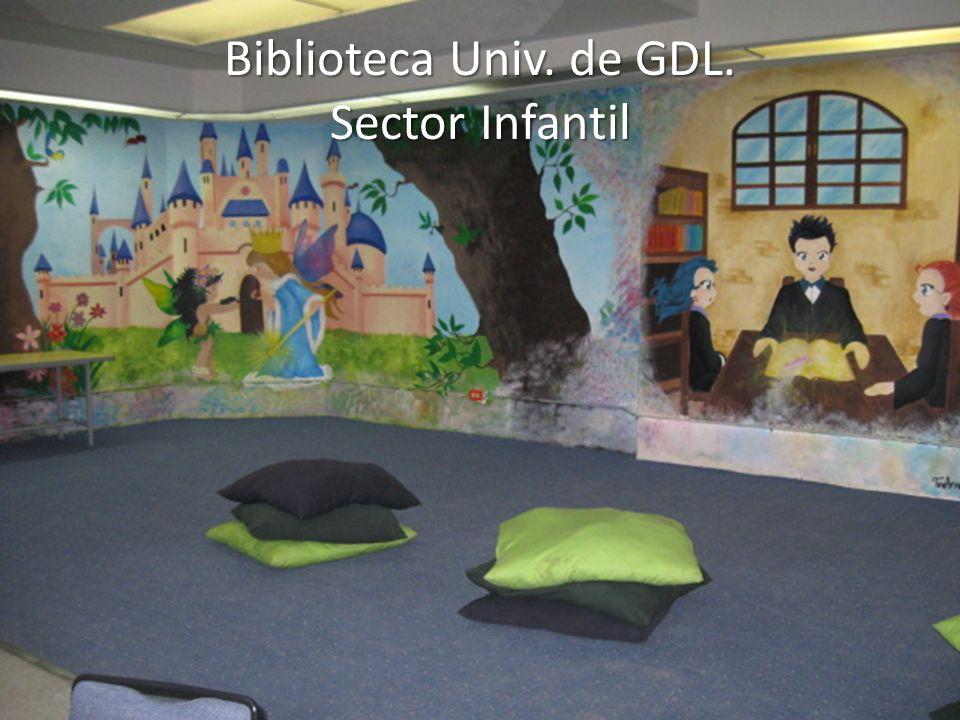 Biblioteca Univ. de GDL. Sector Infantil