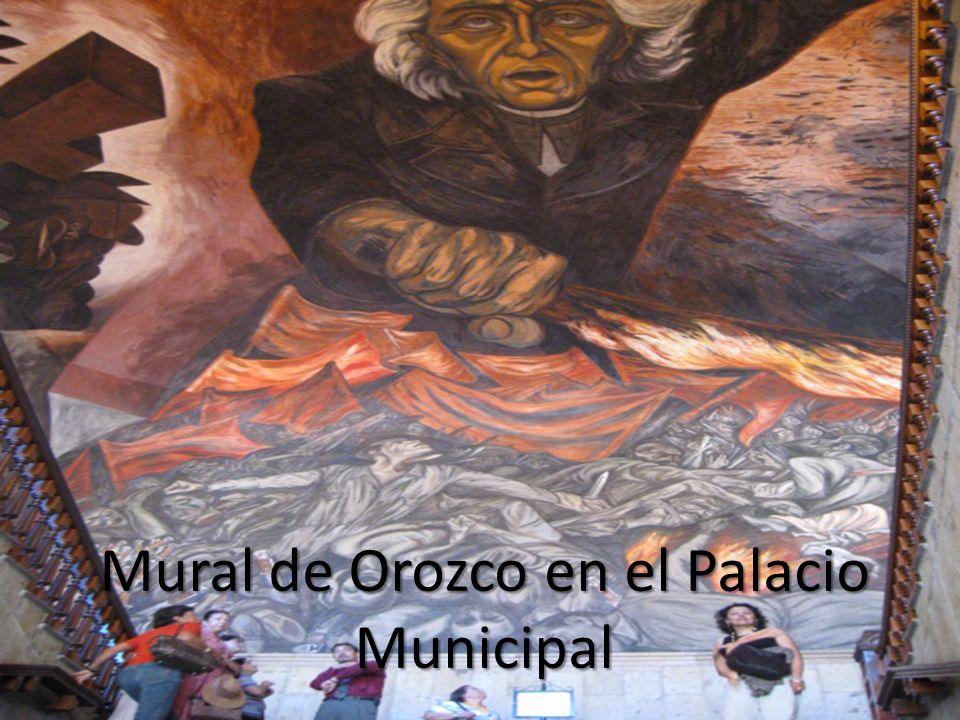 Mural de Orozco en el Palacio Municipal