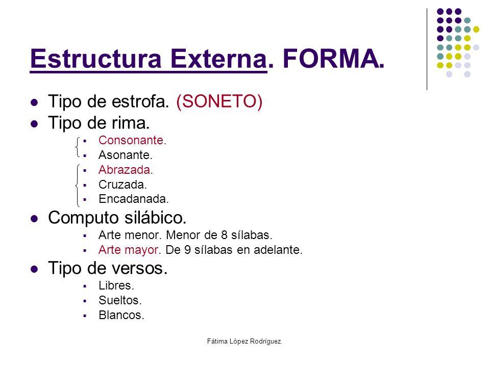 Estructura Externa. FORMA.