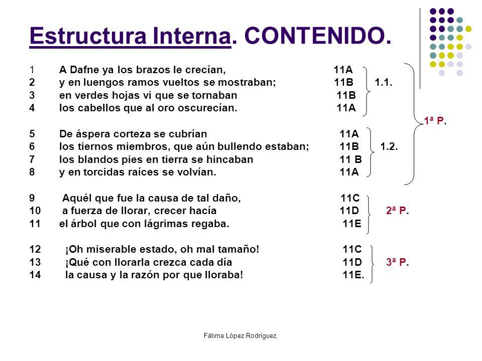Estrustura Estructura Interna. CONTENIDO.