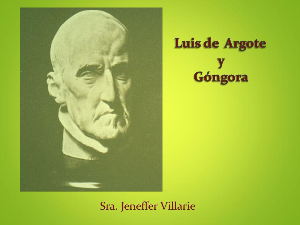 Luis de Argote y Góngora