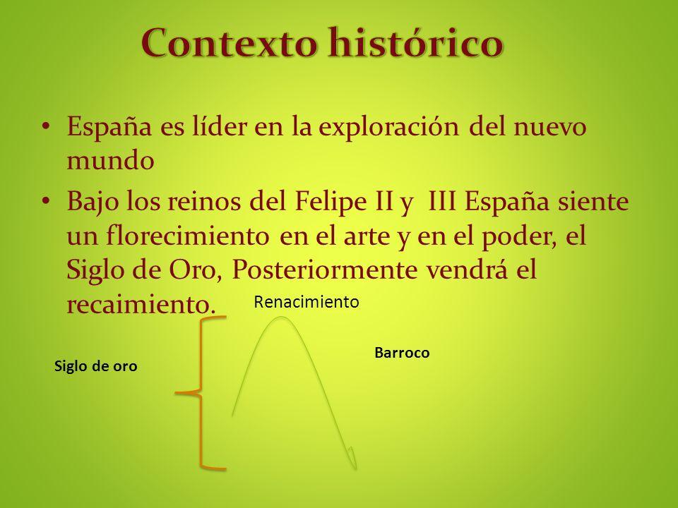 Contexto histórico España es líder en la exploración del nuevo mundo