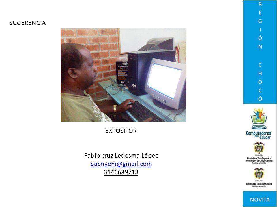 Pablo cruz Ledesma López