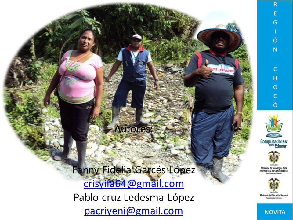 Fanny Fidelia Garcés López crisyifa64@gmail.com