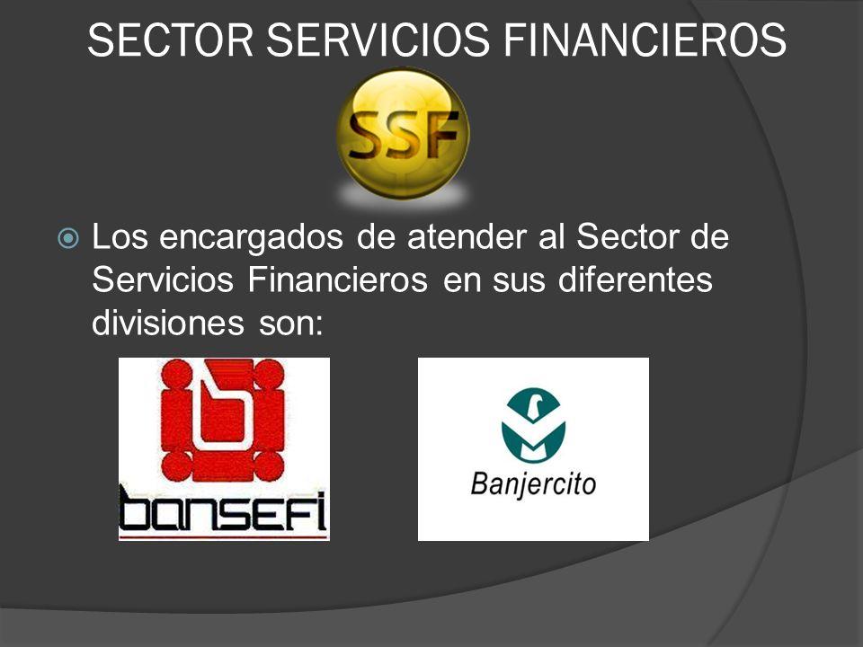 SECTOR SERVICIOS FINANCIEROS