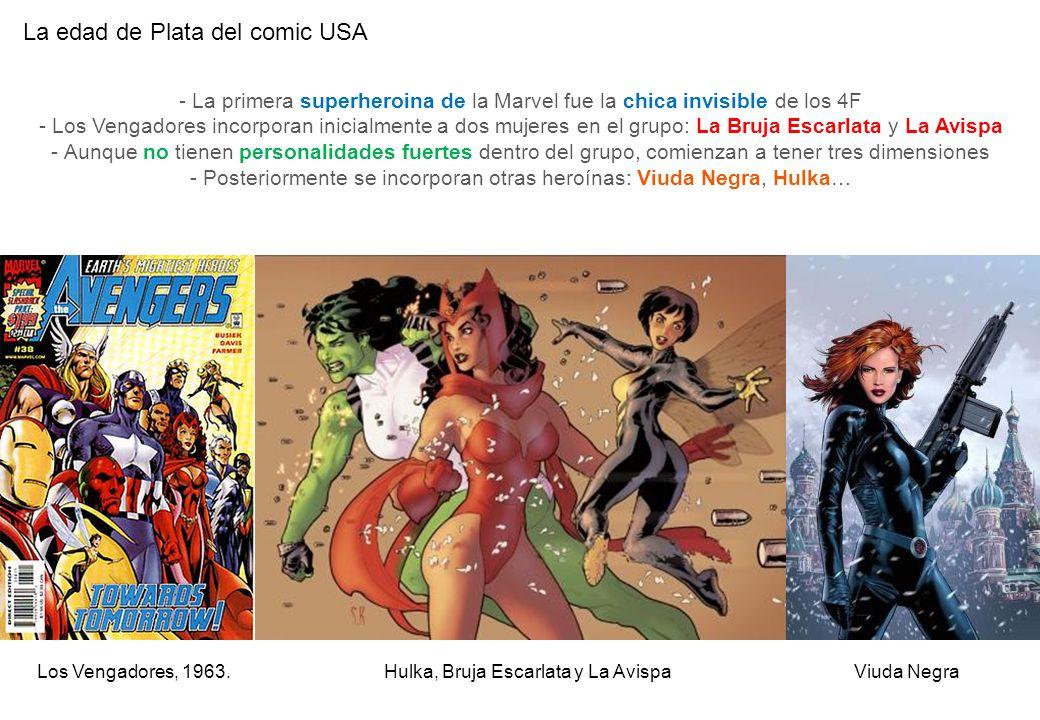 La edad de Plata del comic USA