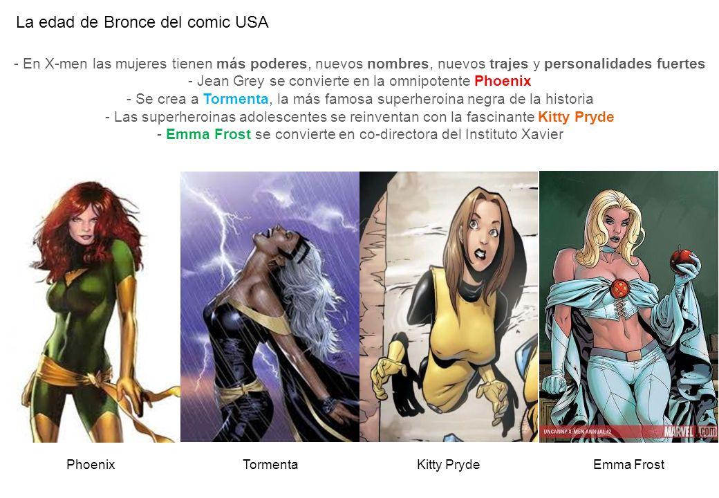 La edad de Bronce del comic USA