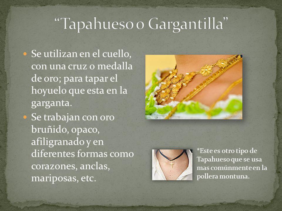 Tapahueso o Gargantilla