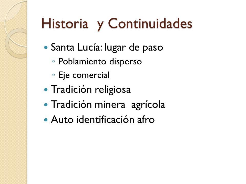 Historia y Continuidades