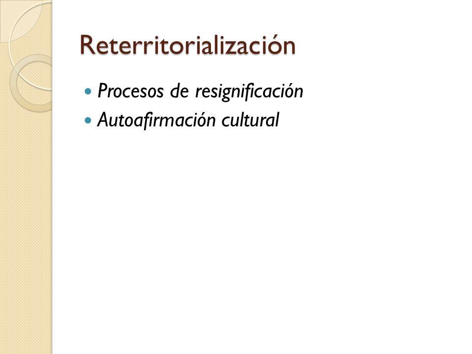 Reterritorialización