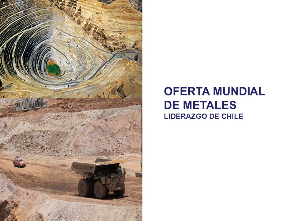 OFERTA MUNDIAL DE METALES