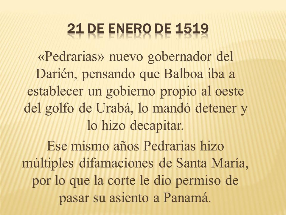 21 de enero de 1519