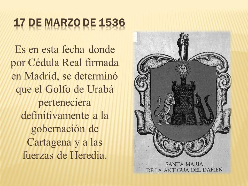 17 de marzo de 1536