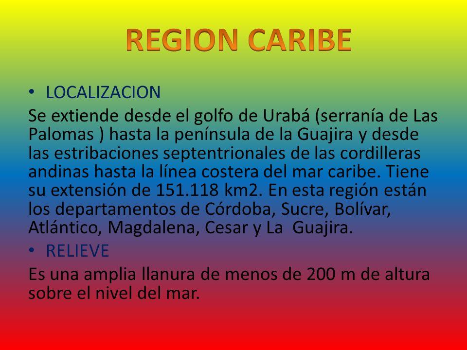 REGION CARIBE LOCALIZACION