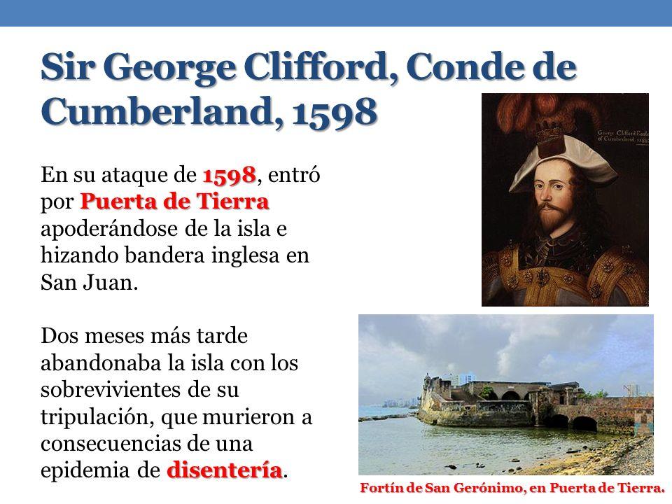 Sir George Clifford, Conde de Cumberland, 1598