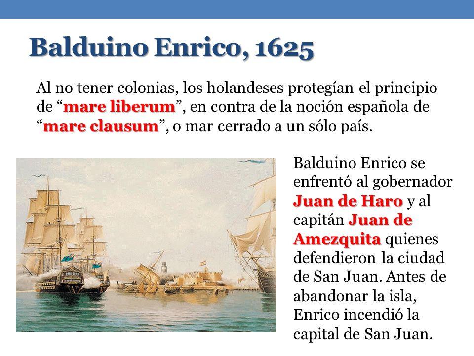 Balduino Enrico, 1625