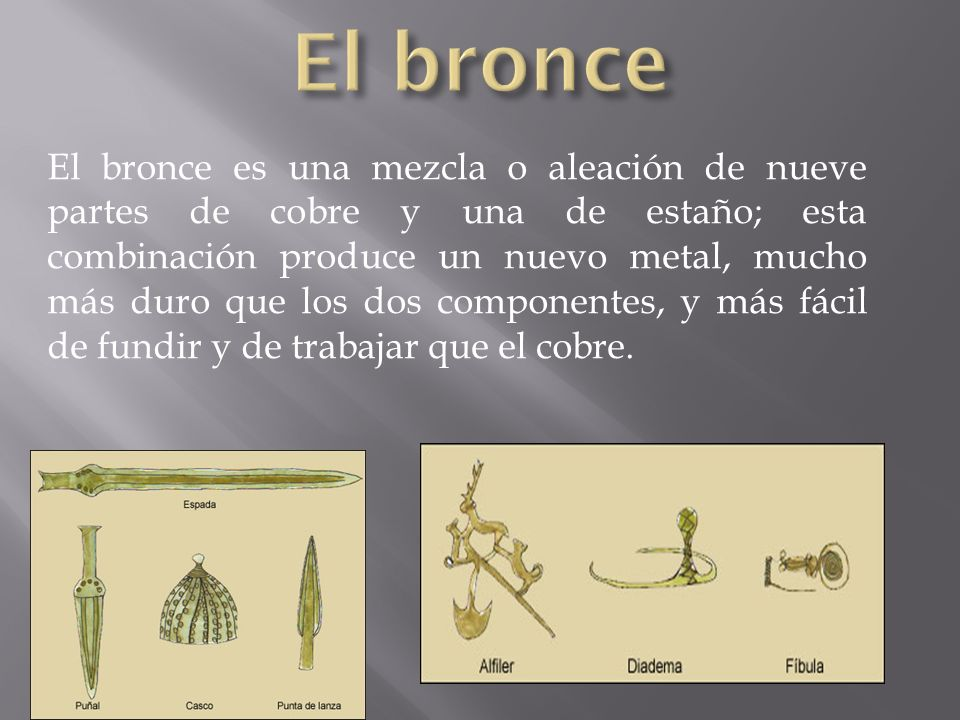 El bronce