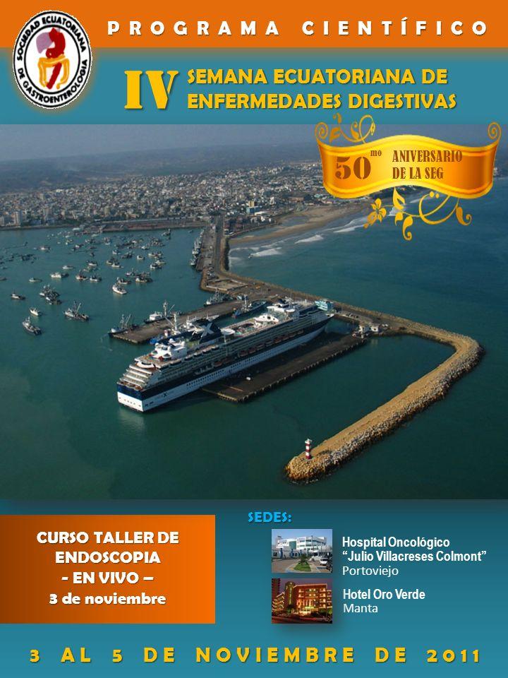 IV 50 SEMANA ECUATORIANA DE ENFERMEDADES DIGESTIVAS