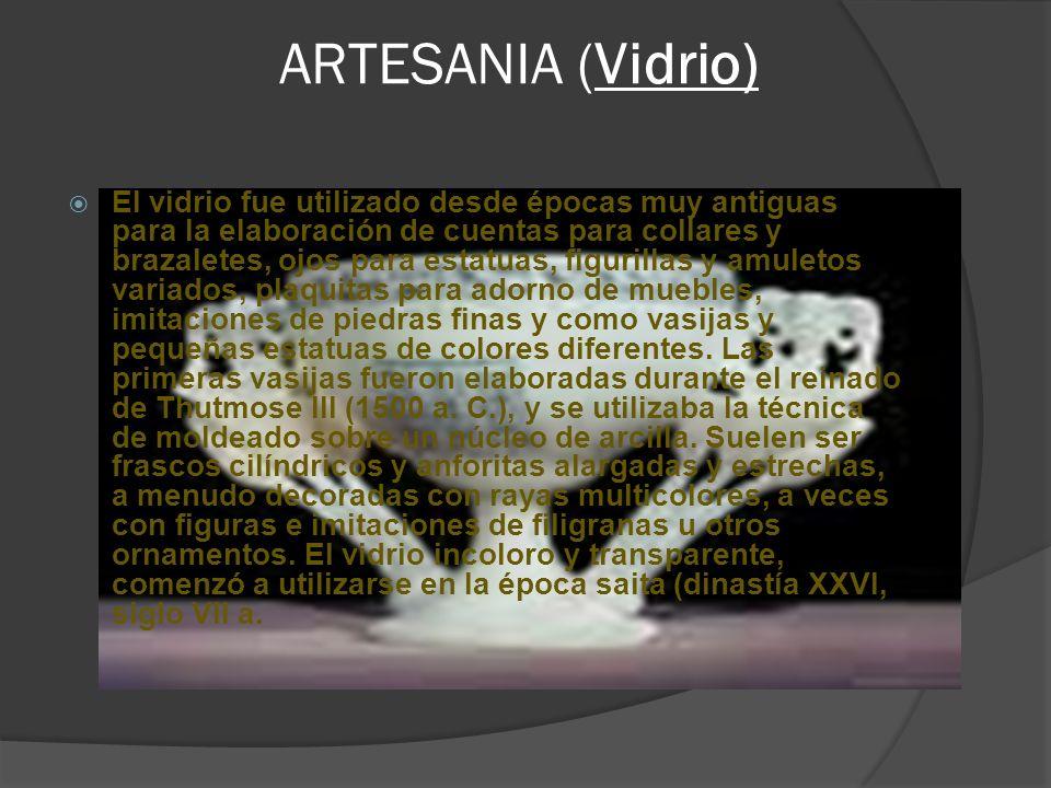 ARTESANIA (Vidrio)