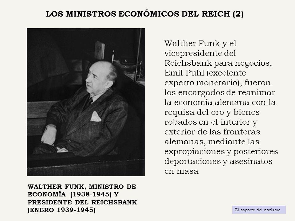 LOS MINISTROS ECONÓMICOS DEL REICH (2)