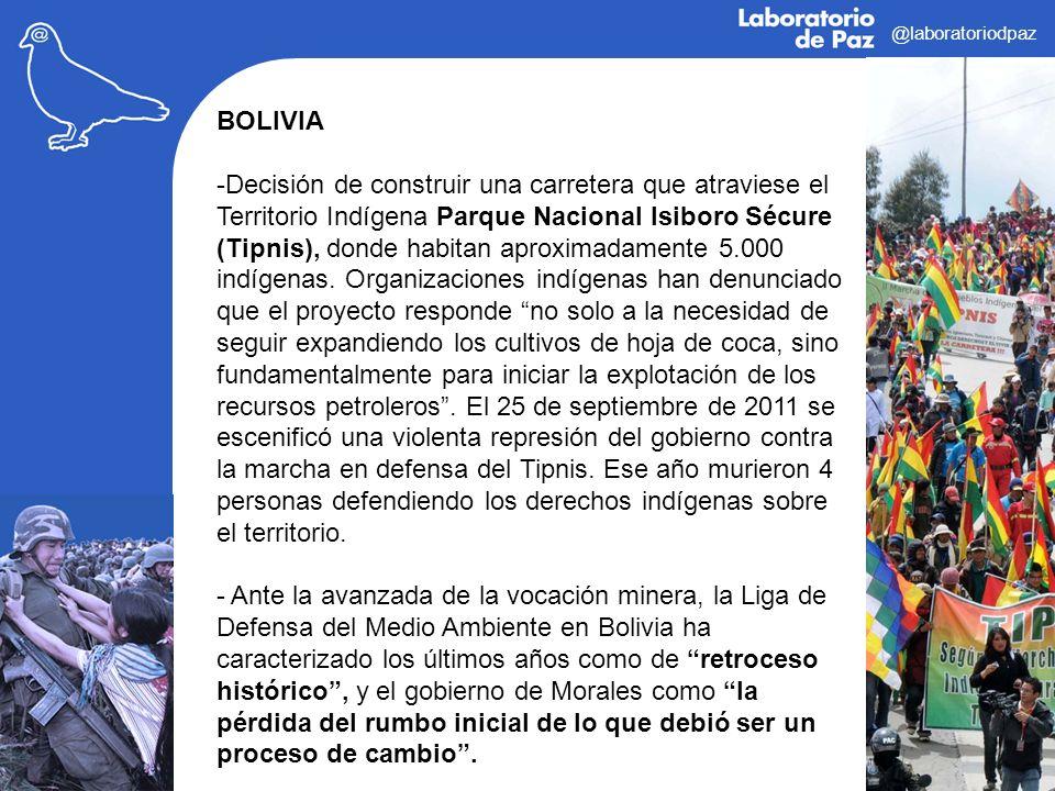 @laboratoriodpaz BOLIVIA.