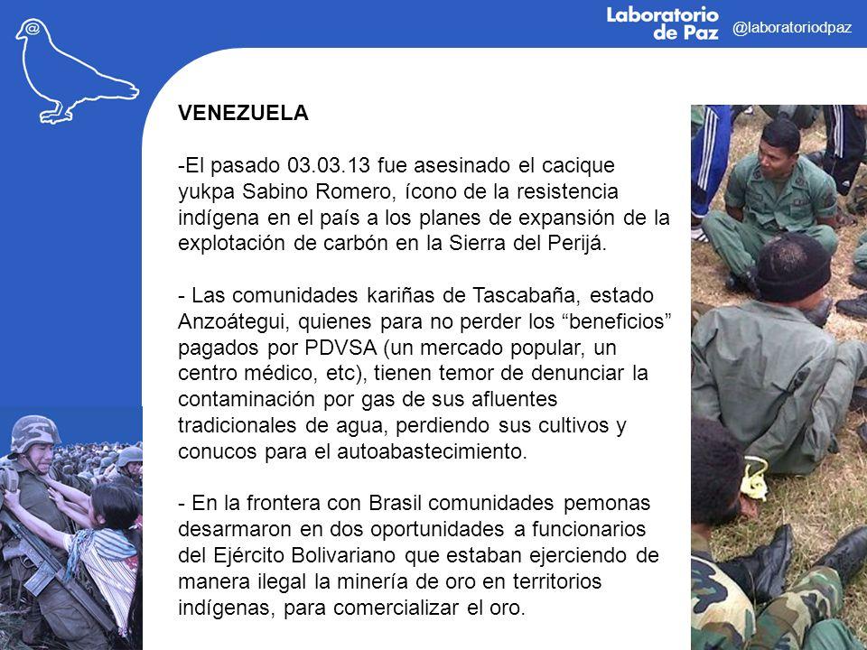 @laboratoriodpaz VENEZUELA.