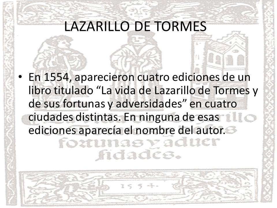 INTRODUCCIÓN LAZARILLO DE TORMES