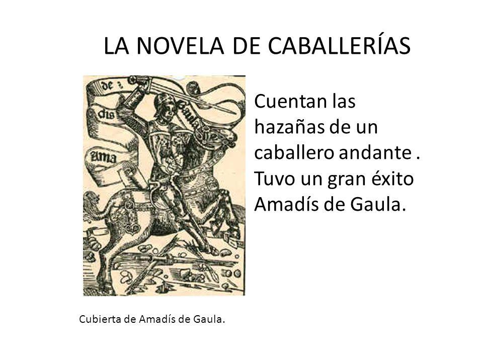 LA NOVELA DE CABALLERÍAS