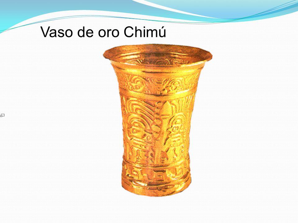 Vaso de oro Chimú
