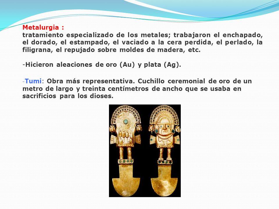 -Hicieron aleaciones de oro (Au) y plata (Ag).