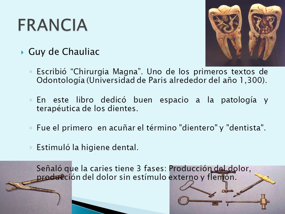FRANCIA Guy de Chauliac