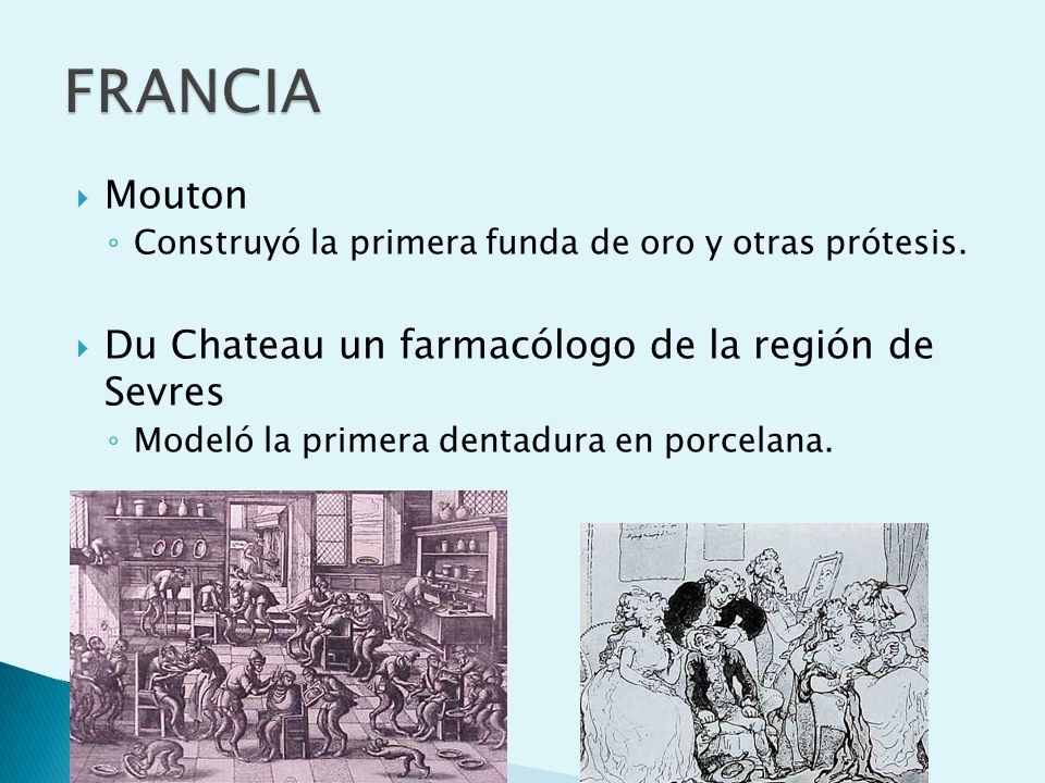 FRANCIA Mouton Du Chateau un farmacólogo de la región de Sevres